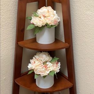 NEW..Artificial Flower Canister Decoration.